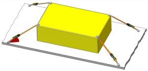 Diagonalzurrverfahren, Beispiel Vertikalwinkel