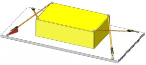 Diagonalzurren Variante 3 Vertikalwinkel