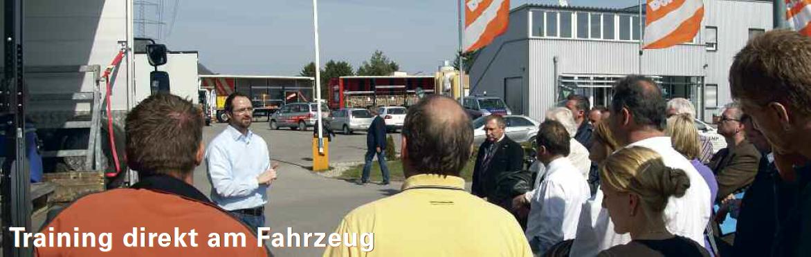 Seminar zur Ladungssicherung - Training direkt am Fahrzeug